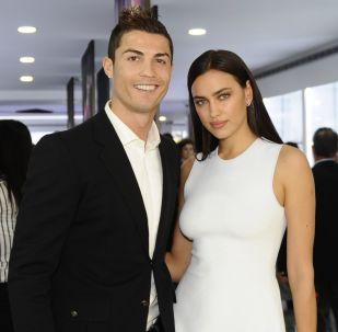 Cristiano Ronaldo e Irina Shayk en 2013