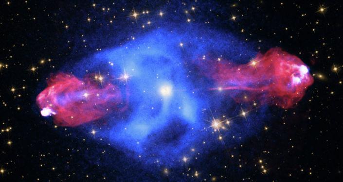 Una parte de la constelación de Cygnus