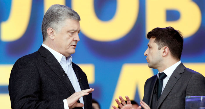 El humorista Zelenski, nuevo presidente de Ucrania