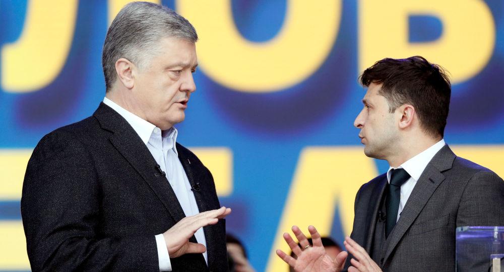 El actor Zelenski ganó las elecciones presidenciales de Ucrania