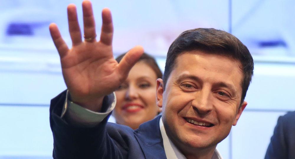 Volodímir Zelenski, ganador de las elecciones presidenciales en Ucrania