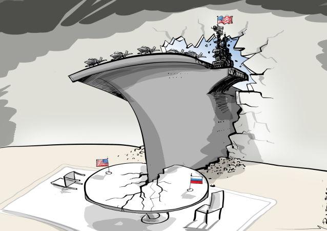 EEUU acude a su mayor arma diplomática: los portaviones