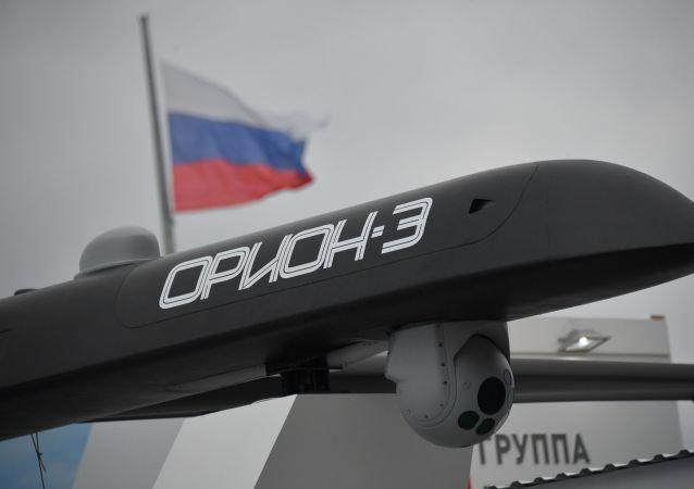 Un vehículo no tripulado Orion 3
