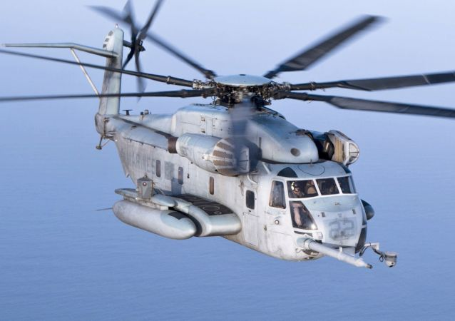 Un CH-53E Super Stallion