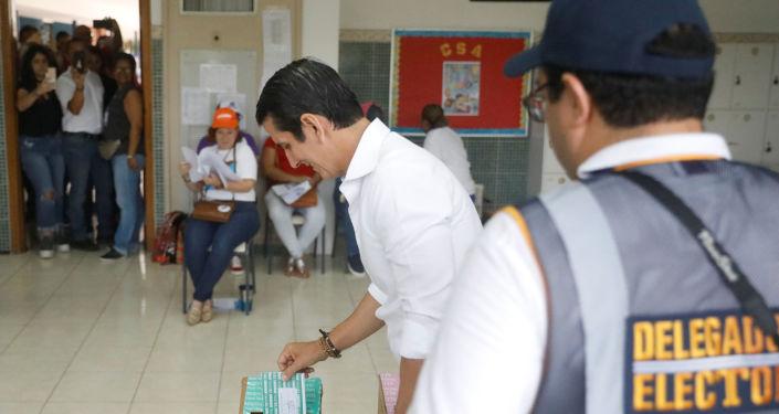Rómulo Roux, candidato presidencial panameño