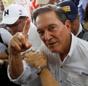 Laurentino Cortizo, ganador de las presidenciales de Panamá