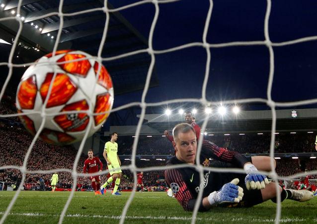 La pérdida de Barcelona contra Liverpool en la Liga de Campeones