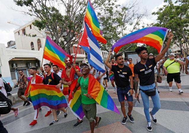 Marcha LGTBI en la Habana, Cuba