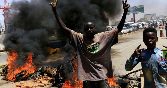 Protestas antigubernamentales en Sudán