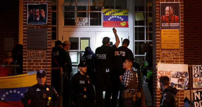 Embajada venezolana en Washington