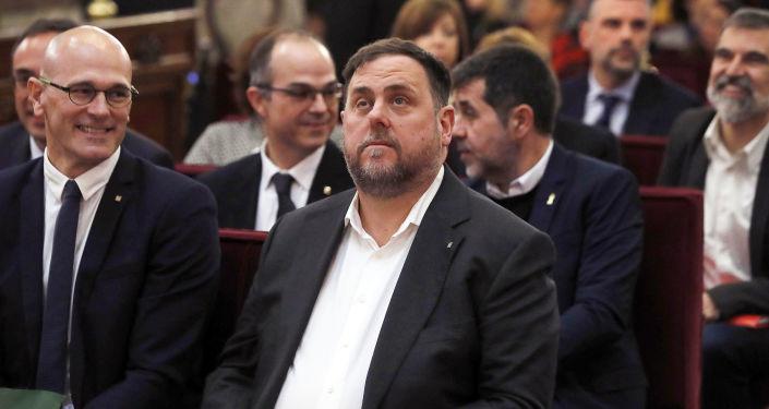 Oriol Junqueras, exvicepresidente catalán