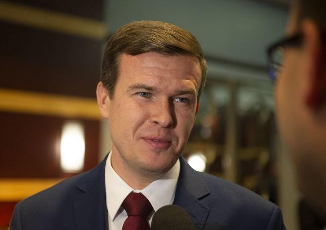 Witold Banka, ministro de Deportes y Turismo de Polonia