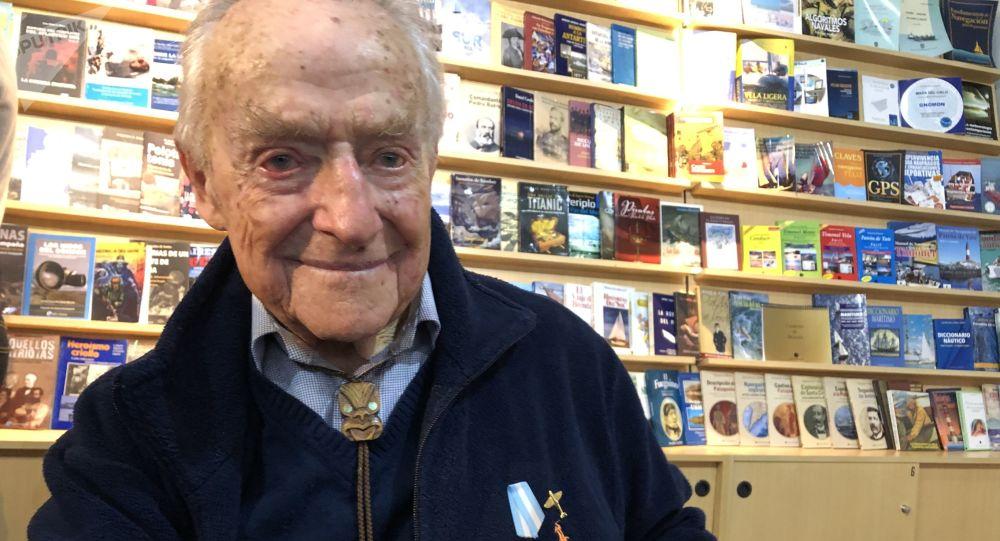 Ronnie Scott, piloto argentino de origen británico que combatió con las fuerzas del Reino Unido en la Segunda Guerra Mundial
