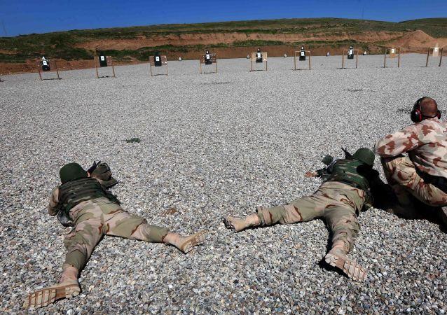 Un militar holandés entrena a las fuerzas iraquíes en Erbil
