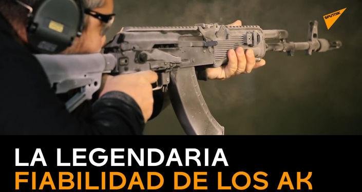 De un extremo a otro: Kalashnikov muestra de lo que son capaces sus fusiles de asalto