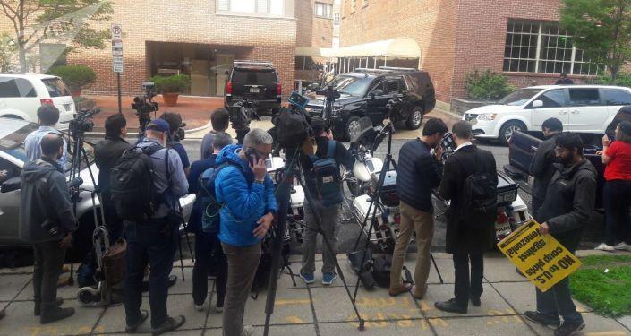 EEUU arresta a activistas en la Embajada venezolana en Washington