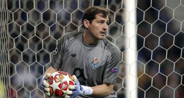 El portero madrileño Iker Casillas