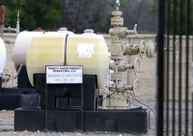 Componentes para una operación de fracturación hidráulica en EEUU