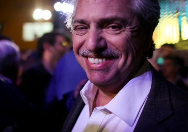 Alberto Fernández, candidato presidencial argentino