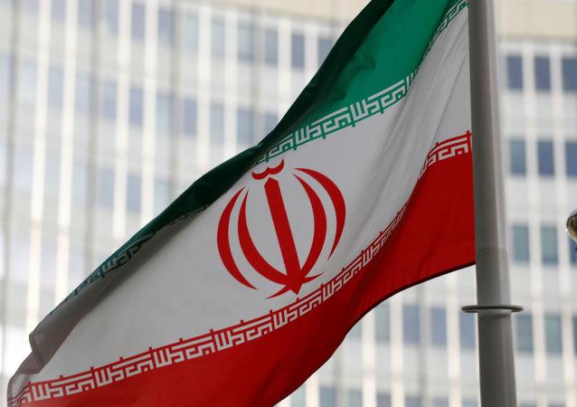 La bandera de Irán