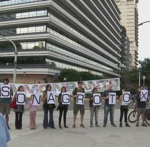 La Marcha Mundial contra Monsanto en Buenos Aires