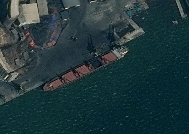 Wise Honest, el barco norcoreano (archivo)