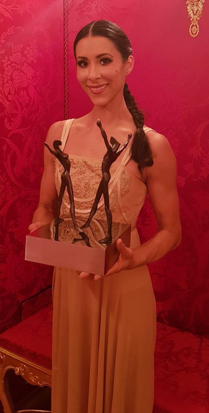Elisa Carrillo Cabrera, bailarina de ballet mexicana