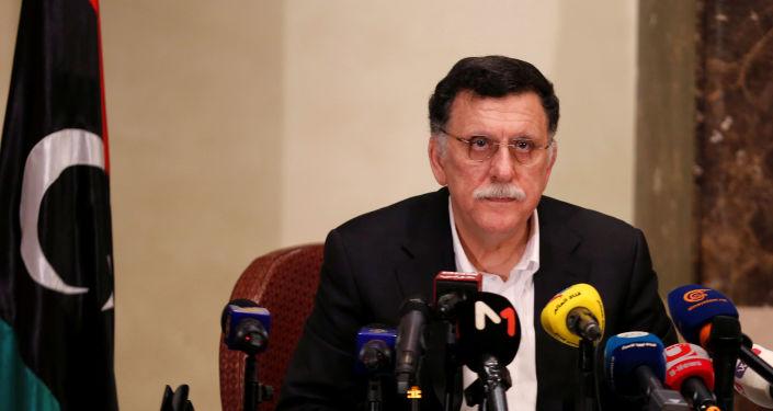 El presidente del Gobierno de Unidad Nacional de Libia, Fayez Sarraj