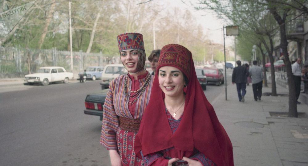 Mujeres armenias