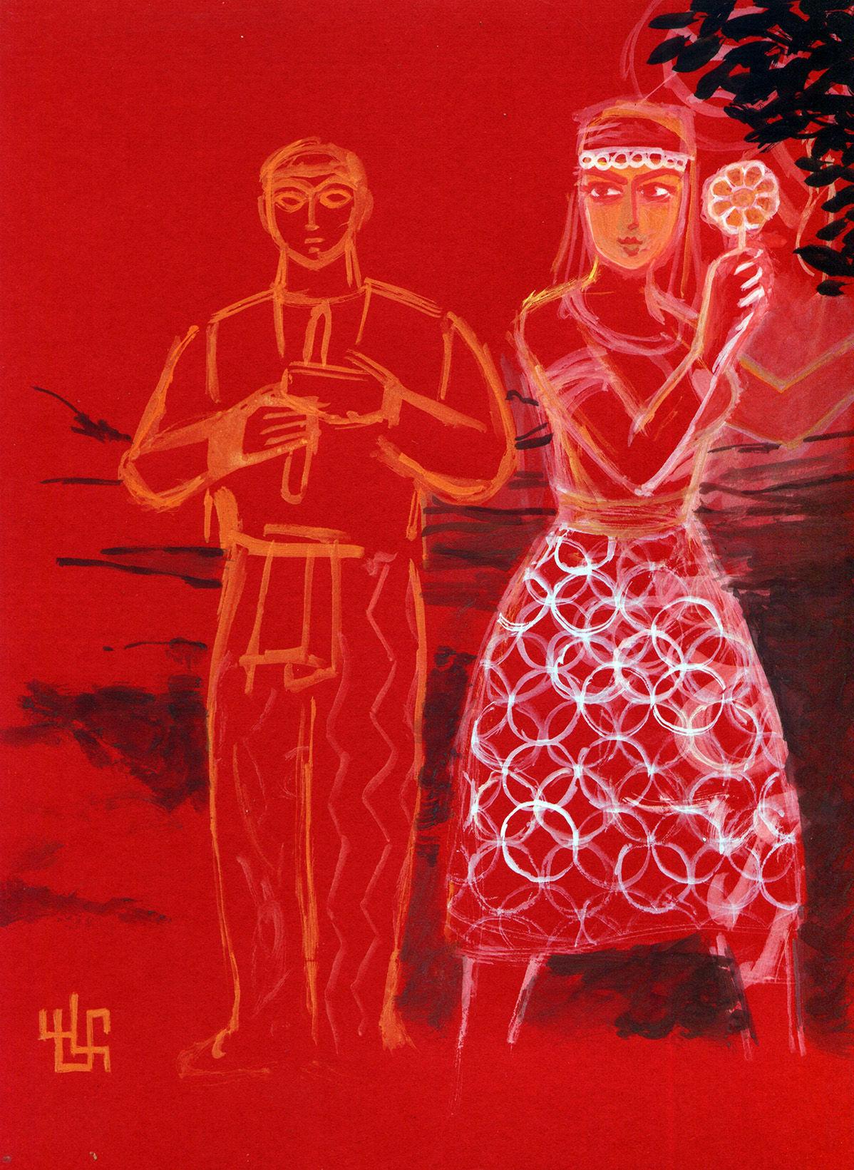 Obra de Martín Vaneskeheian incluida en la muestra 'Armenias'