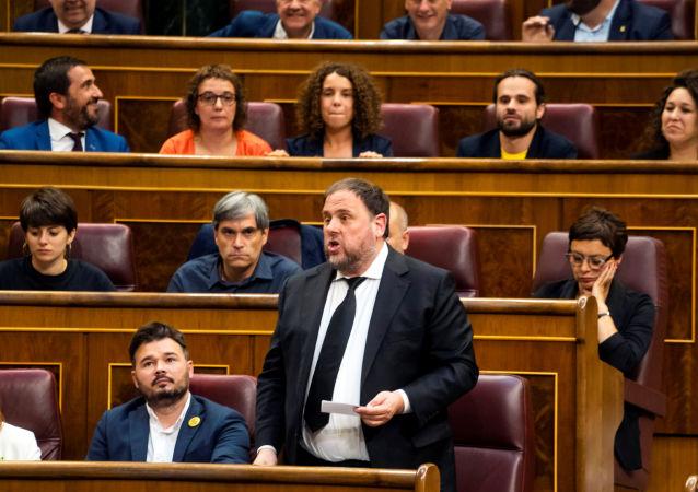 Oriol Junqueras, exvicepresidente de Cataluña