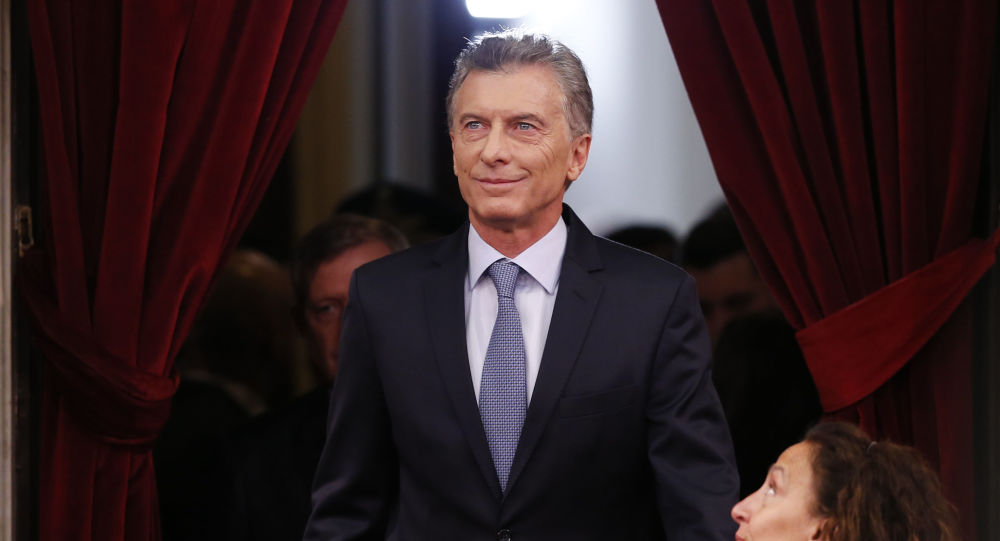Mauricio Macri, presidente de Argentina