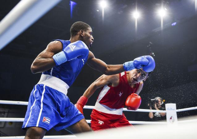 Andy Cruz Gomez, boxeador cubano