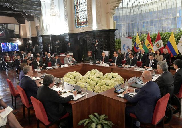 XIX Consejo Presidencial Andino de la Comunidad Andina (CAN)