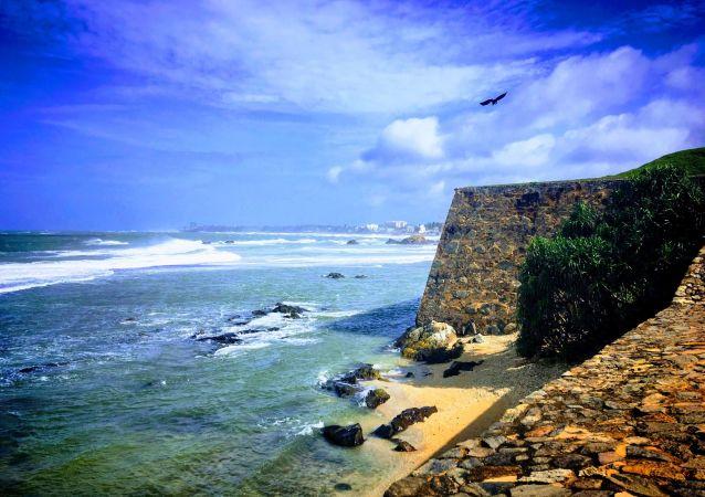 Las costas de Sri Lanka