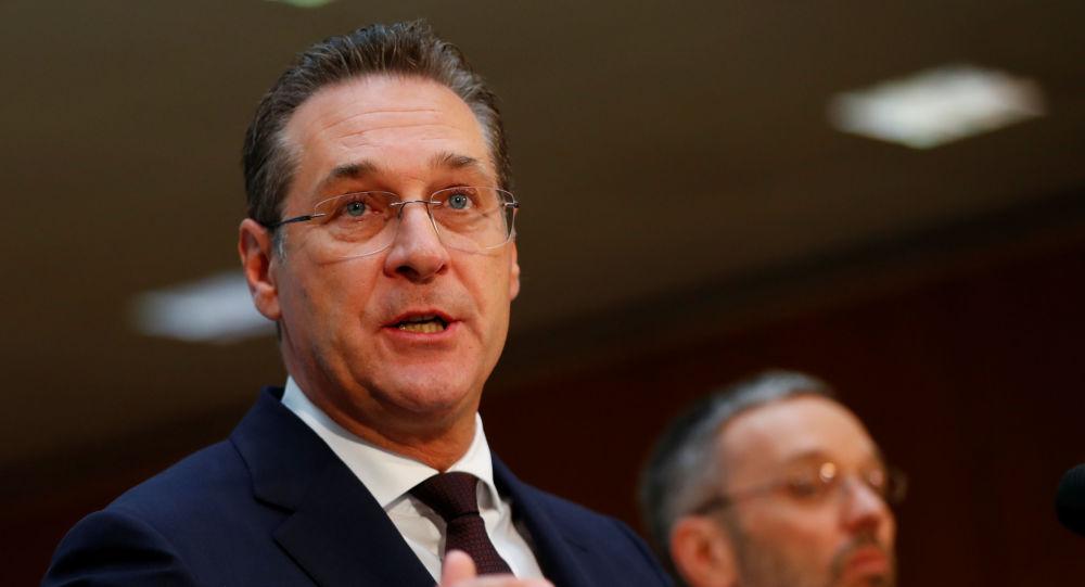 Heinz-Christian Strache, exvicecanciller austriaco