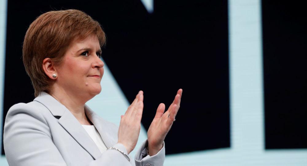 Nicola Sturgeon, jefa y líder del Partido Nacional de Escocia