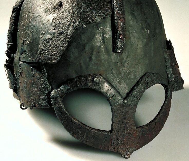 El yelmo de Gjermundbu es el casco vikingo mejor conservado
