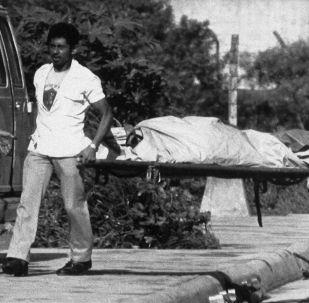Guerra civil en El Salvador (archivo)