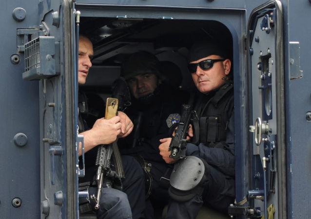 La Policía de Kosovo