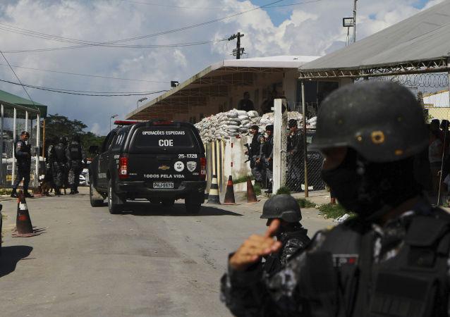 La Policía de Brasil (archivo)