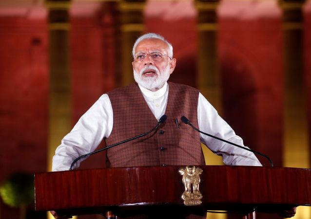Narendra Modi, el primer ministro indio