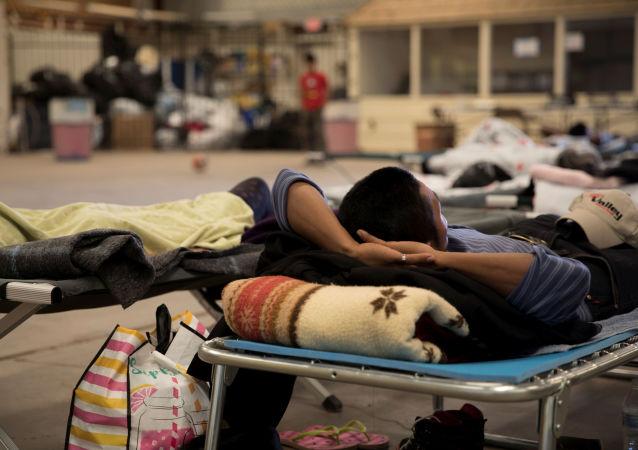 Un migrante mexicano
