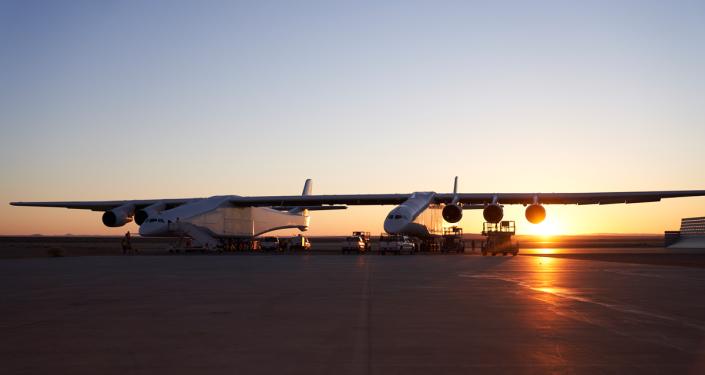 El avión del proyecto Stratolaunch