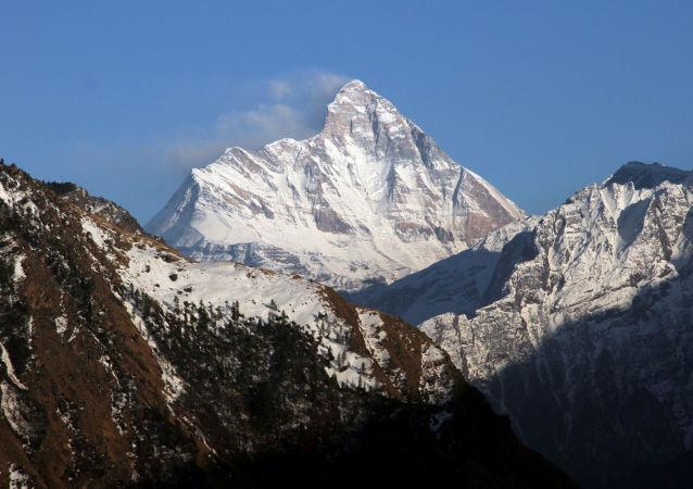 Montaña Nanda Devi