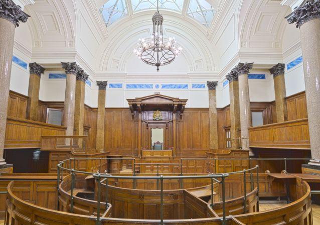 Corte judicial. Imagen referencial