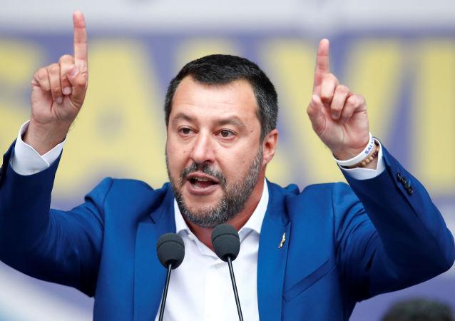 Matteo Salvini, vicepresidente del Gobierno de Italia
