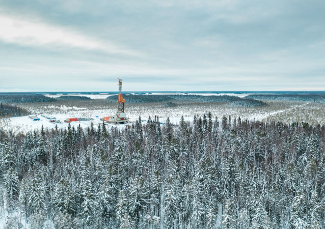 La zona de Paliánovskaya del yacimiento de Krasnoleninski, en la región de Janti-Manski, donde se quiere extraer el crudo que contiene la formación Bazhénov.