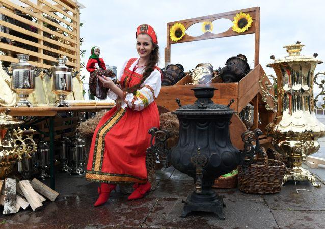 El Festival de la hospitalidad rusa Samovarfest (archivo)