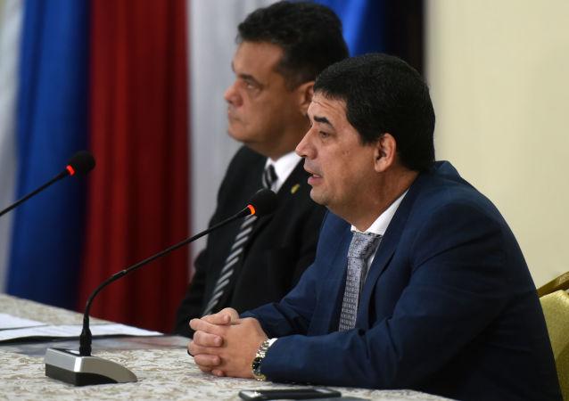 El vicepresidente de Paraguay, Hugo Velázquez